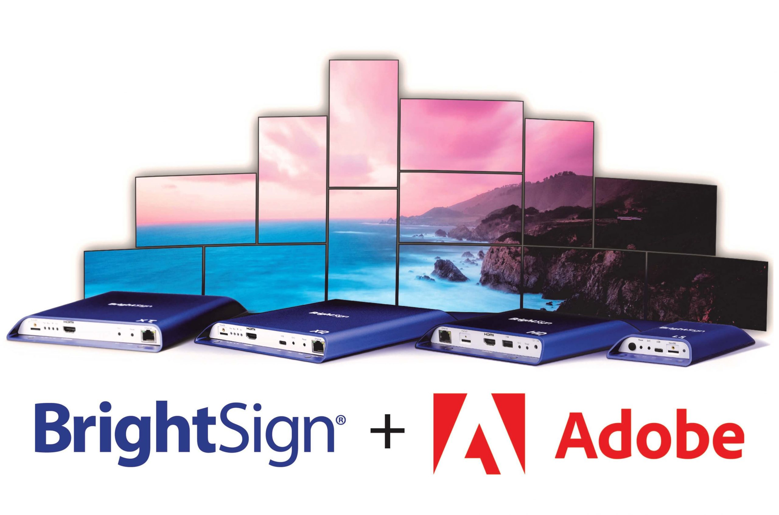 BrightSign upgrades hardware with Adobe Manager Screen compatibility